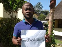 #bringbackourgirls - Chris Mutapa, SOS-Sozialarbeiter in Chipata, Sambia
