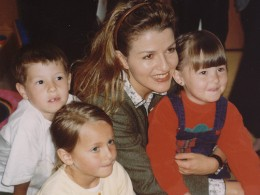 Anne-Sophie Mutter im SOS-Kinderdorf Seekirchen
