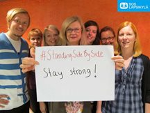 SOS Children´s Villages Finland to SOS colleagues in West Africa fighting #Ebola: Stay Strong! #StandingSidebySide
