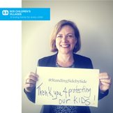 SOS Children's Villages USA: Our CEO Lynn Croneberger is grateful for the incredibly courageous SOS staff members fighting Ebola in West Africa. ‪#‎StandingSidebySide‬