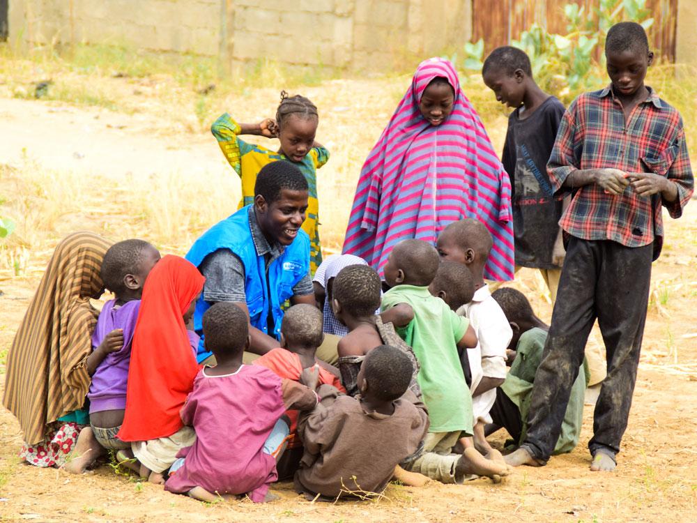 Alleinerziehende aus Nigeria
