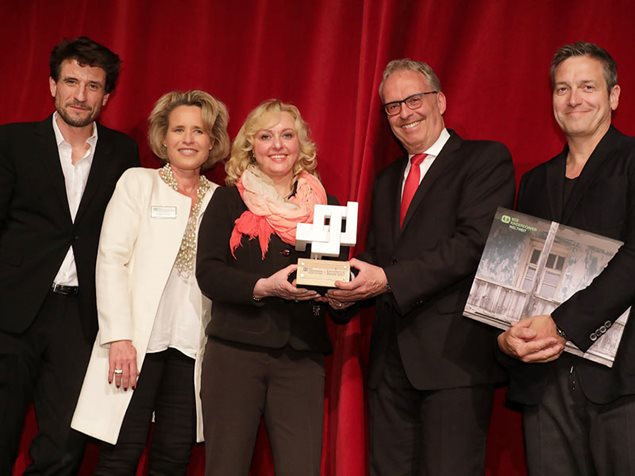 Verleihung des Excellence Awards