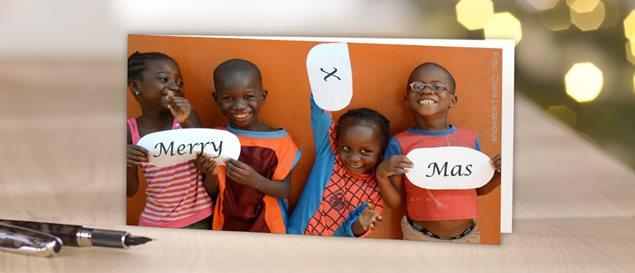 Cewe Weihnachtskarten.Weihnachtskarten Grusskarten Sos Kinderdorfer Weltweit