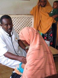 Sprechstunde in der Mutter-Kind-Klinik in Mogadischu, Somalia