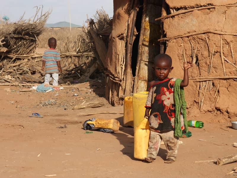 äthiopien Hungersnot