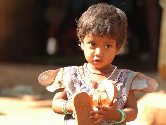 Mädchen Indien