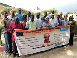 Women´s Empowerment for Change: Projekt-Team in Gambia